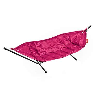 Fatboy 9001112 headdemock hangmat, roze-zwart rek