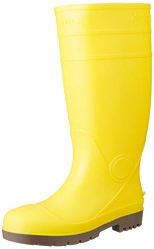 [マルゴ] 安全長靴 鋼製先芯 耐油 安全プロハークス 920 イエロー 25 cm