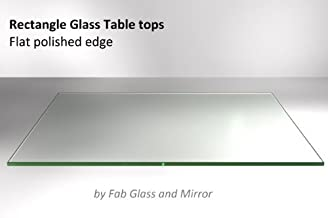 Fab Glass and Mirror Rectangle 24x36 Inch 1/4