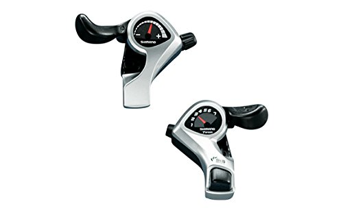 Shimano Tourney/TY SL-TX50 Thumb Shifter Plus - Silver, 7 Speed