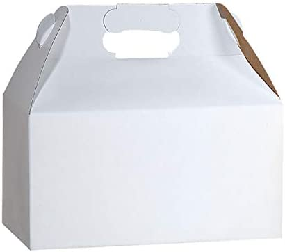 Gable Box OFFicial mail order 100 Count Gloss Max 70% OFF White -
