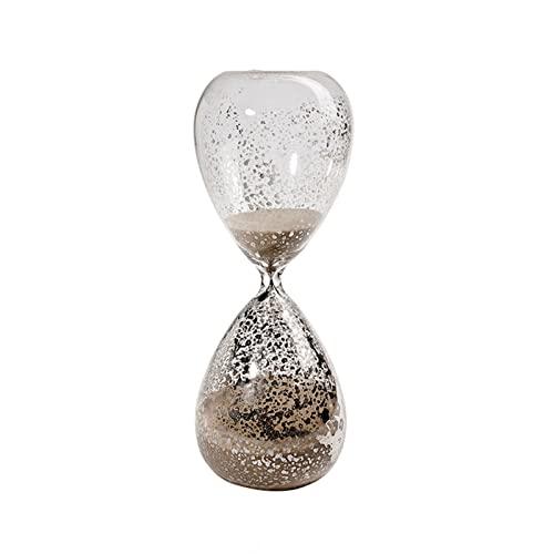 HDDH Asistente de gestión del Tiempo Reloj de Arena Decorativo Regalo Creativo Inicio Escritorio Decoraci de Oficina Reloj de Arena de Cristal 30 Minutos