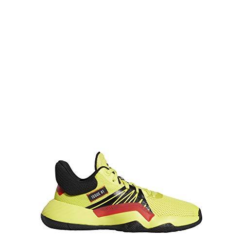 adidas Performance D.O.N. Issue 1 Basketballschuhe Kinder gelb/schwarz, 6.5 UK - 40 EU - 7 US