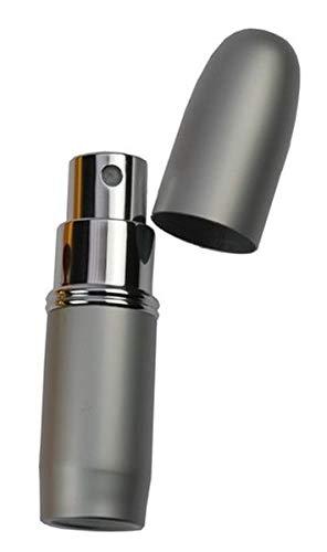 Fantasia - Vaporisateur de poche métal argenté pour 4 ml Hauteur 7,5 cm