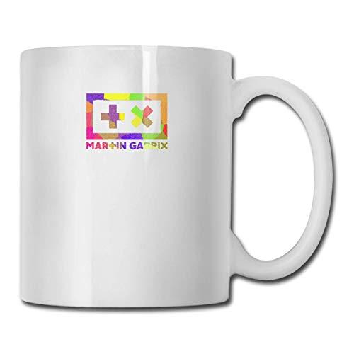 Tazas Martin Garrix Logo Diseño hecho a mano Taza de café divertida Taza de regalo para fanáticos Esposo Esposa Novia