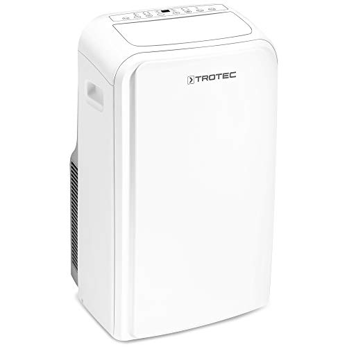 TROTEC Aire Acondicionado portátil Pac 3000 X A + / 2,9 kW/Adecuado para Habitaciones de hasta 40 m² / 100 m³ / Aire Acondicionado 3 en 1: Refrigeración, ventilación, deshumidificación
