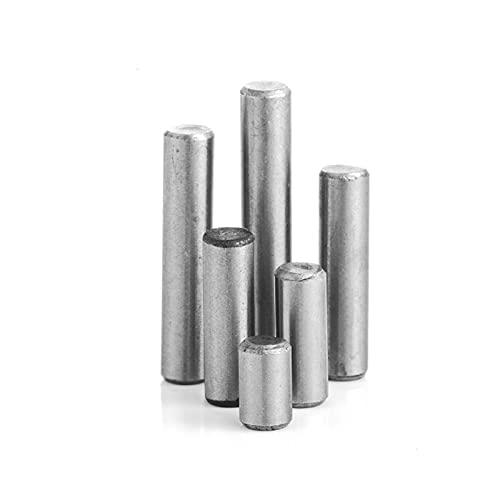 De múltiples fines 100pcs / lote DIA 3MM Cojinete Cilíndrico Pines Cylindricos - Pin Pins-Pass-Passing Pin Elementos de fijación con pasador (Diameter : 3x6mm)
