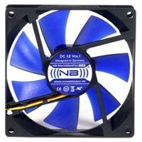 (((noiseblocker))) BlackSilentFan XE-2 - 92x92x25mm - 3Pin - 1800U/min - 21dbA - 65m3/h