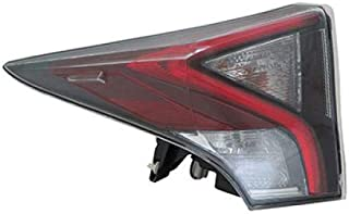 Go-Parts - OE Replacement for 2016 Toyota Prius Tail Light Rear Lamp Assembly Replacement - Left (Driver) TO2800200N Replacement For Toyota Prius