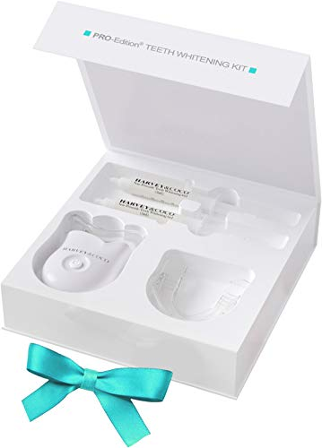 Teeth Whitening Kit, PRO-Edition with LazerCoco, More Effective Than Strips or Charcoal, Say Hi to Your New Smile