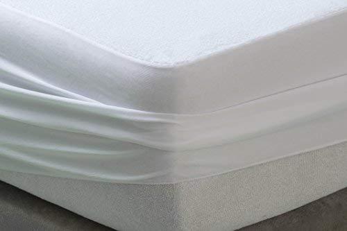 Savel Protège-matelas Imperméable et Respirante, Éponge Bouclette 100% Coton - 90x190/200cm | Alèse – disponible en plusieurs dimensions