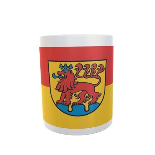 U24 Tasse Kaffeebecher Mug Cup Flagge Calw