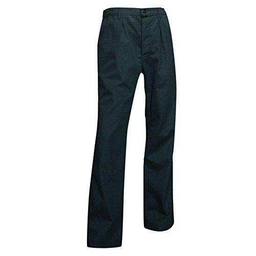 LMA 1037 MARMITON Pantalon de Cuisinier, Noir, 42