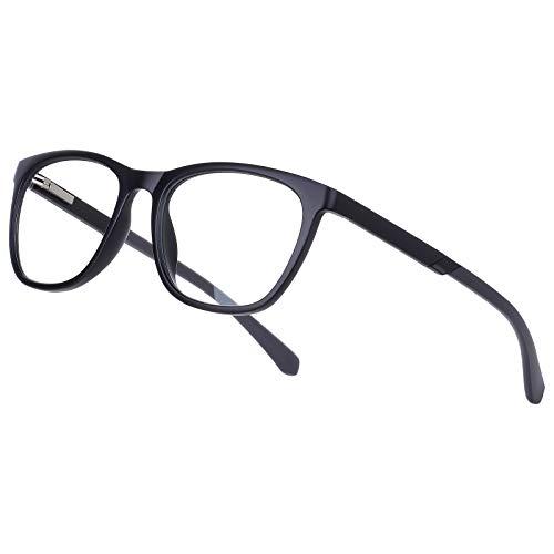 Gimdumasa gafas ordenador gaming pc uv luz filtro proteccion azul mujer hombre para antifatiga GI799 (2310Negro)