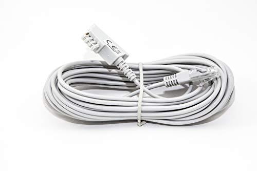 COXBOX 8 m DSL Kabel Fritzbox, Speedport, Easybox - TAE Kabel RJ45 grau - VDSL ADSL WLAN Router-Kabel mit Twisted Pair für eine zuverlässige Verbindung