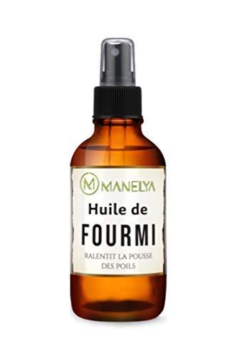 Huile De Fourmis Bio - Avec Applicateur Spray - 100 ml - Flacon en verre ambré.