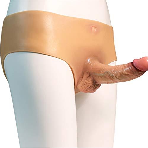ZHOUJX Strâp-õn Ðildǒ Péńǐs Strâplěss Hârněss Didlo Hollow for Men to Use on Men Wearable Strápôn Belt Pants Couples Beginners ZHOUJX