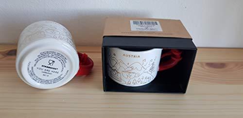 Starbucks Austria Christmas Edition Collection Demi Mug Espresso Coffee Cup Tasse NEU in OVP Box Österreich