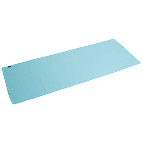 VIENDADPOW Toalla de Yoga Antideslizante Azul