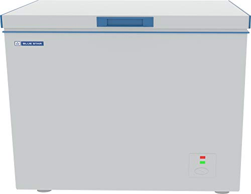 Blue Star CHF300 Single Door Deep Freezer (284 L, White)