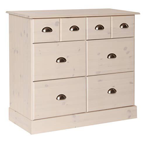 NJA Furniture Kommode, weiß