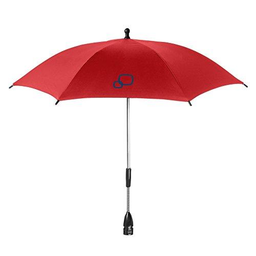 Quinny 72408320 - Sombrilla para silla de paseo y cochecito, color rojo