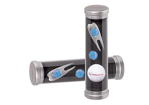 Golfgeschenk zum selbst bedrucken-Golfball & Pitchgabel & Ballmarker mit eigenem Motiv