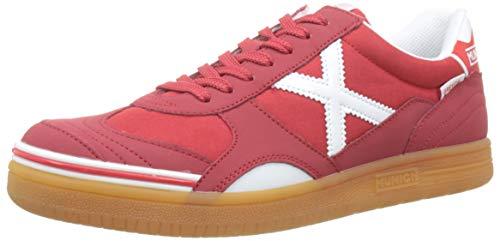 Munich Gresca 08, Zapatillas de Deporte Hombre, Rojo (Rojo 624), 42 EU