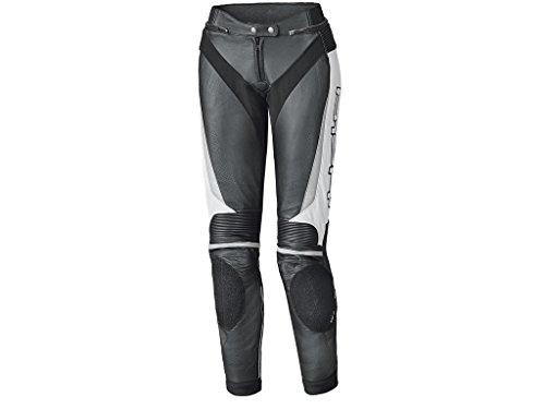 Held Lane II Damen Motorrad Lederhose 20 Schwarz/Weiß