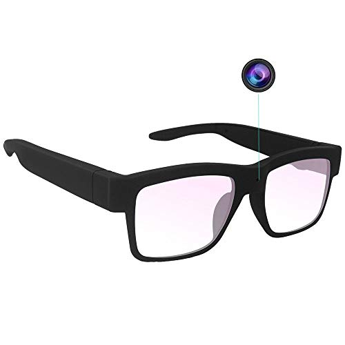 Camera Glasses 1080P HD Outdoor Sports Smart Camera Mini Video Glasses Wearable Portable Eye Glasses Max Support 32G Card