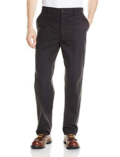 Red Kap Men's Cell Phone Pocket Pant, Black, 36W x 32L