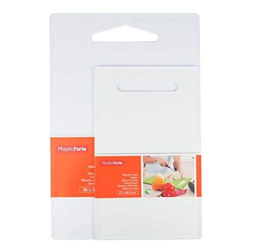 Tabla Para Cortar Cocina/Tabla de Cortar PVC Reforzado/Tabla de Cortar, Preparar, Trocear, Picar(Pack 2)