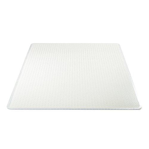 TITLE_Deflecto Execumat Clear Chair Mat, High Pile Carpet