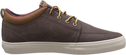 Globe Herren GS Chukka Skateboardschuhe, Braun (Dark Brown/Plaid 17307), 45 EU