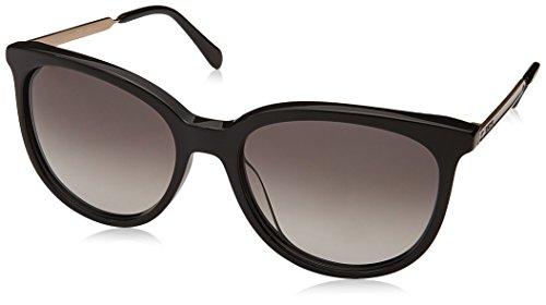 Fossil Fos 3064/s - Gafas de sol redondas, color negro, 55 mm