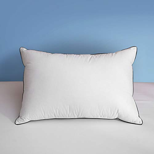 Dafinner 100% Organic Goose Down Feather Pillow...