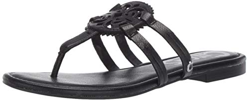 Circus by Sam Edelman Women's Canyon Flat Sandal, Black, 10 M US