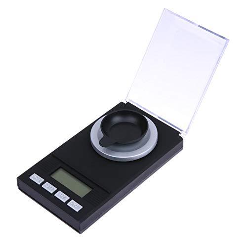 Portable Mini 20g / 0,001 g 50g / 0.001g digitale weegschaal LCD Electronic Capacity Balance Diamond Jewelry High Precision Pocket Scale,20g 0.001g