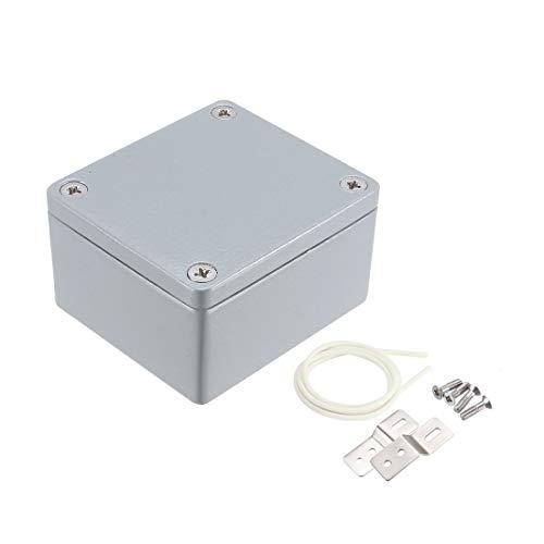 "sourcingmap® 2.5""x2.3""x1.4"" Aluminium Anschlussdose Universal elektrische Gehäuse DE"
