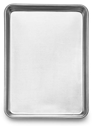 """Spring Chef Aluminum Jelly Roll Pan, Baking Cookie Sheet For Oven, Heavy Duty, 10""""x15"""""""