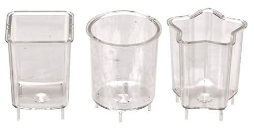 GLOREX fundición para Vela, plástico, Transparente, 24x 8.6x 4cm
