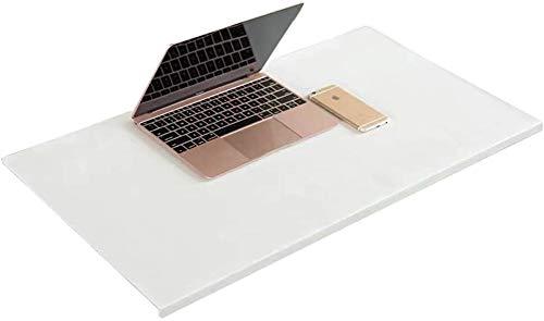 Alfombrilla de escritorio con protector de borde impermeable con almohadilla de sujeción para ratón, antideslizante, para estudiantes, oficina, hogar