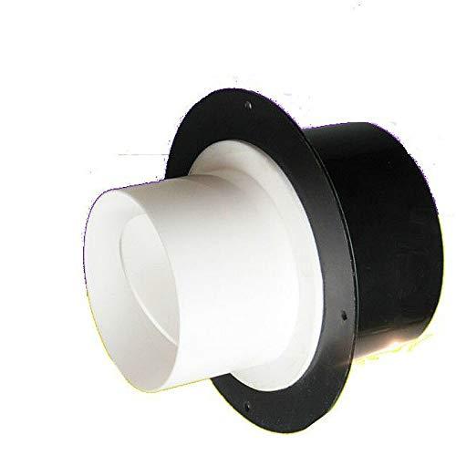 Precision valve Compruebe el ventilador de escape variable de las válvulas compuerta de aire de la válvula de diam una forma de válvula 100 a 80/75 mm for extractores de ventilación baño Easy to use a