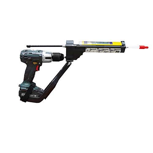 Kartuschenpresse Kartuschenpistole Silikonpresse Silikonspritze Adapter für Akkuschrauber