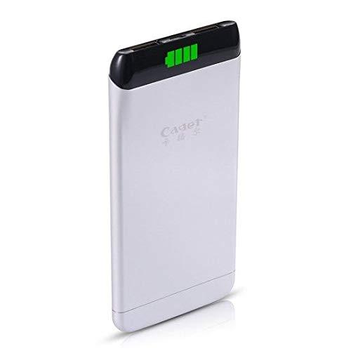 Slim en Smart Grijs Dual USB S15 5500mAh Powerbank Externe Accu oplader