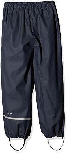 Celavi Kinder Unisex Regen-Latzhose,Blau (Dark Navy 778), 110 cm (5 Jahre)