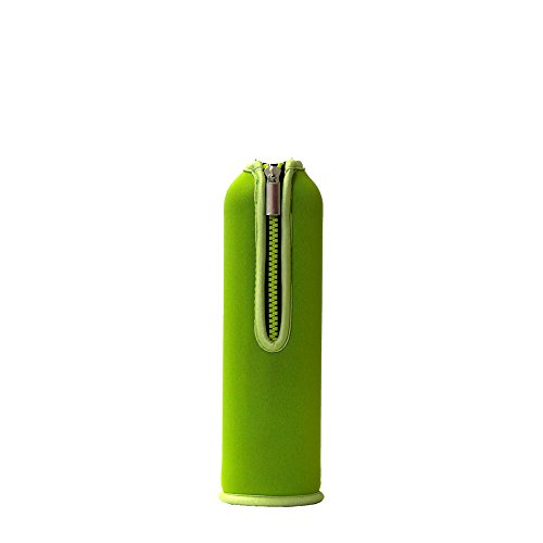 Doraplast Dora´s Ersatz-Neoprenbezug für 0,5 l Glasflasche, Farbe :grün