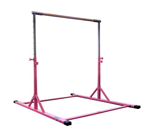Z ATHLETIC Gymnastics Expandable Kip Bar (Pink)