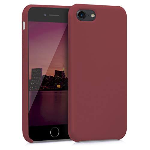 kwmobile Coque Compatible avec Apple iPhone 7/8 / Se (2020) - Coque - Housse de téléphone Brique