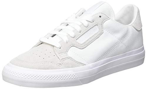 adidas Continental Vulc, Zapatillas Deportivas Unisex Adulto, FTWR White FTWR White FTWR White, 35.5 EU